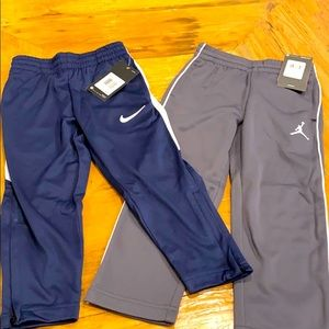 NEW Nike & Jordan 2pc Youth Pant Bundle